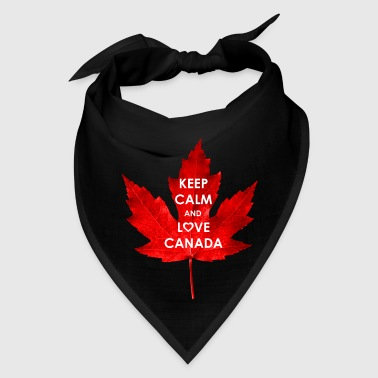 KEEP CALM AND LOVE CANADA - Bandana