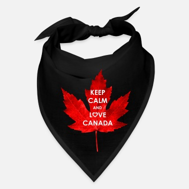 Calm KEEP CALM AND LOVE CANADA - Bandana
