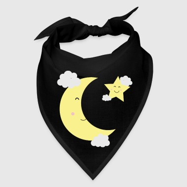 Moon and Star - Bandana