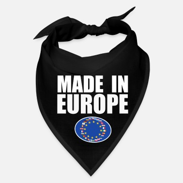 Europe Made in Europe Gift - Bandana