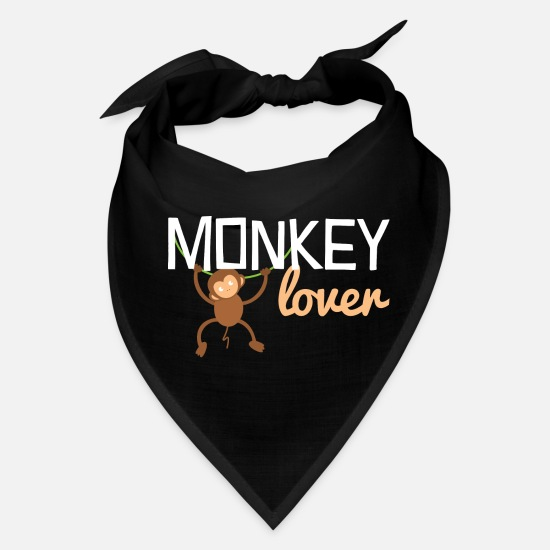 Banana Caps - Monkey Zoo Animal Jungle Zookeeper Cool Gift - Bandana black