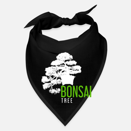 Bonsai Caps - Bonsai Tree - Bandana black