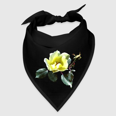 Delicate Yellow Rose - Bandana