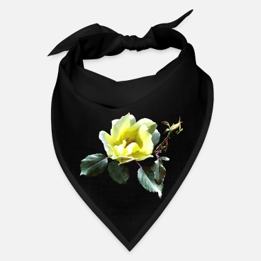 Yellow Rose Delicate Yellow Rose - Bandana