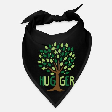 Tree Hugs Tree Hugger Planting Trees Eco Friendly - Bandana