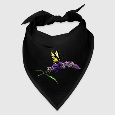 Swallowtail on Butterfly Bush - Bandana