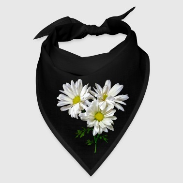 Three White Daisies - Bandana