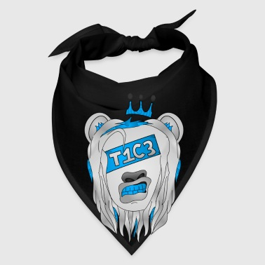Rise T1C3 - Iced Out Lion - Bandana