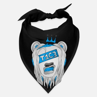 Skate Rise T1C3 - Iced Out Lion - Bandana