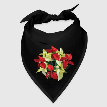 Circle of Poinsettias - Bandana