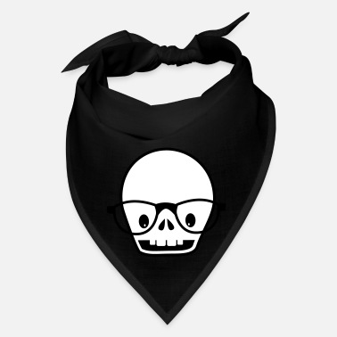 Strange new skull with glasses - Bandana