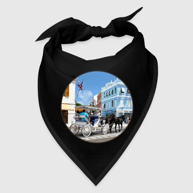 Hamilton Bermuda Carriage Ride - Bandana