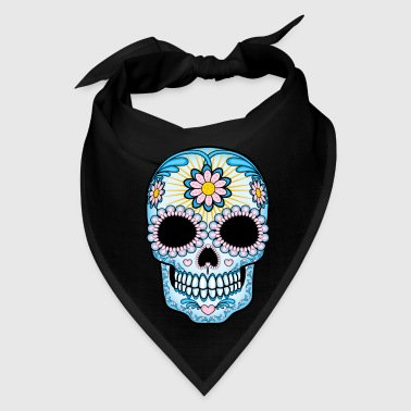 Mexican Colorful Sugar Skull - Bandana