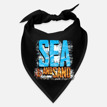 Sea sea and sand - Bandana