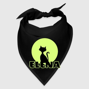 Elena Name day first name personal gift moonlight  - Bandana
