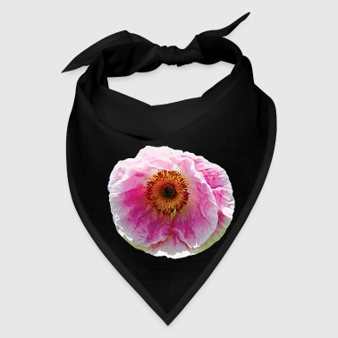 Large Pink Poppy - Bandana