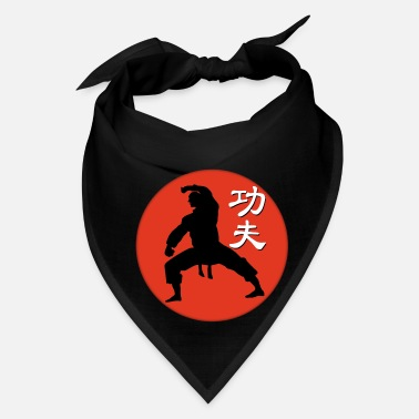 Carat red kungfu fighter - Bandana