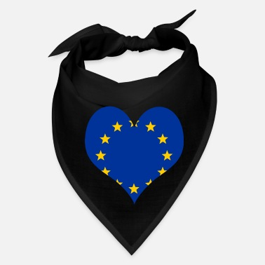 Europe Heart Europe Love country europe gift idea - Bandana