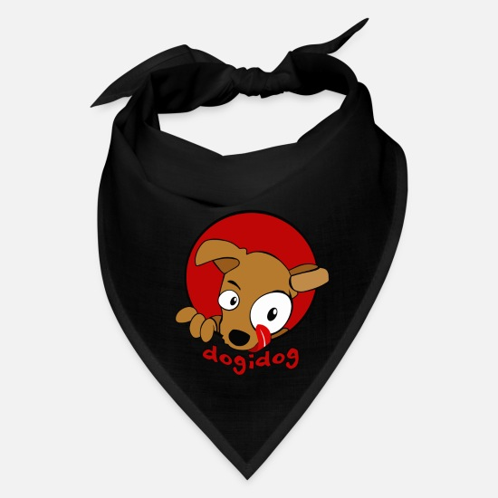 Dog Owner Caps - Dogi dog - Bandana black