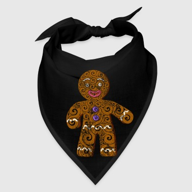 Swirly Gingerbread Man - Bandana