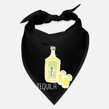 Liquor Tequila Shots Lemon Salt Liquor Party Alcohol - Bandana