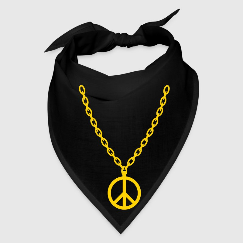 Peace Gold Chain - Bandana