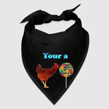 Cock Your a Rooster LolliPop - Bandana