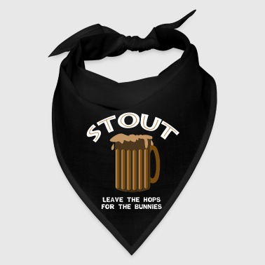 Beer Stout White - Bandana