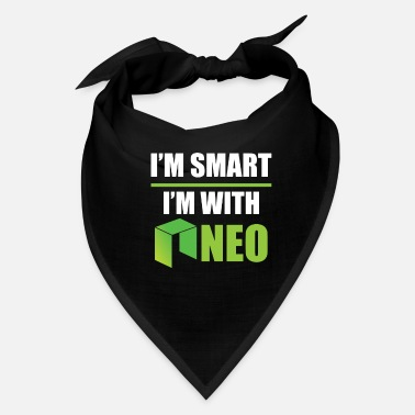 Euro I´m Smart, I´m With NEO - Cryptocurrency - Bandana