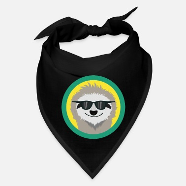 Sunglasses Cool Sloth with sunglasses - Bandana