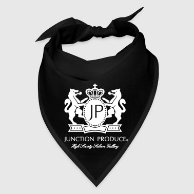 Junction Produce Logo White VIP CAR - Bandana