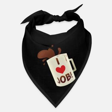 Job i heart job coffee mug job simulator i love job - Bandana