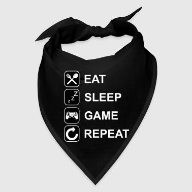 Eat Sleep Game Repeat - Bandana