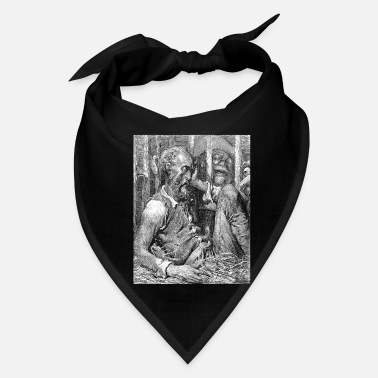 Sir Don Quixote graphic | Quijote by Cervantes - Fine - Bandana