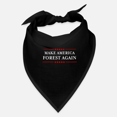 Obama Make America Forest Again design - Funny - Bandana