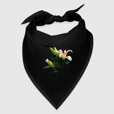 Elegant Lily And Buds - Bandana