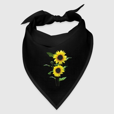 Sunflowers Tall and Short - Bandana