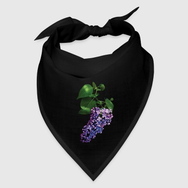 Graceful Purple Lilacs - Bandana