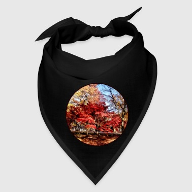 Bright Red Autumn Tree - Bandana