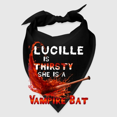 Luccile is Thirsty She is a Vampire Bat - Bandana