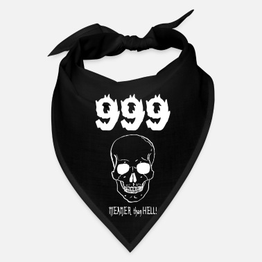 Satire 999....MEANER than HELL! (for dark items) - Bandana