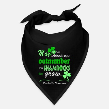 Clever Nashville Irish Blessing - Bandana