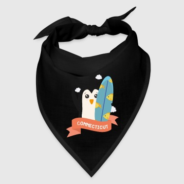 Penguin Surfer from Connecticut  Sw3m0a - Bandana