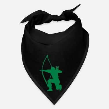 Sports longbow english archer medieval symbol - Bandana