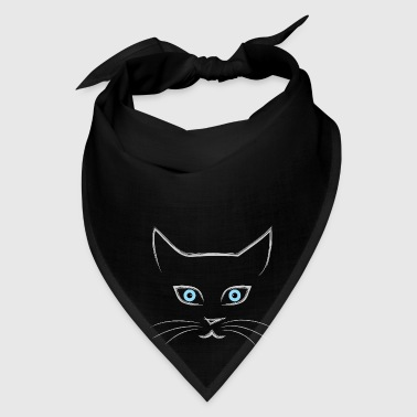Cat's face - Bandana