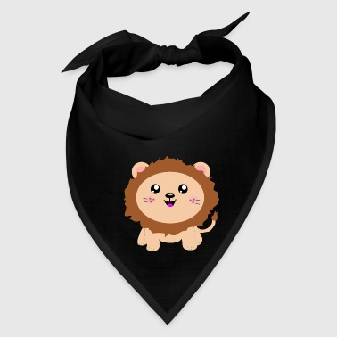 Cute cartoon Lion - Bandana