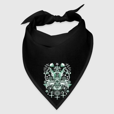 Gothic Green Egyptian 2 - Bandana