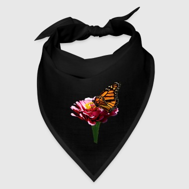 Monarch Butterfly on Pink - Bandana
