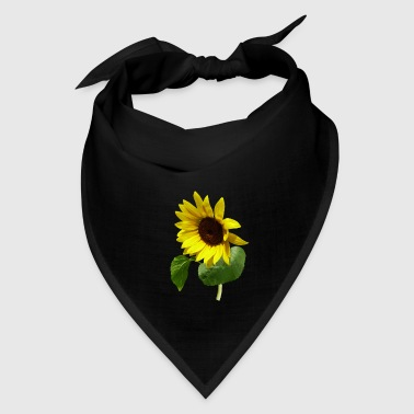 Sunflower Gazing Down - Bandana