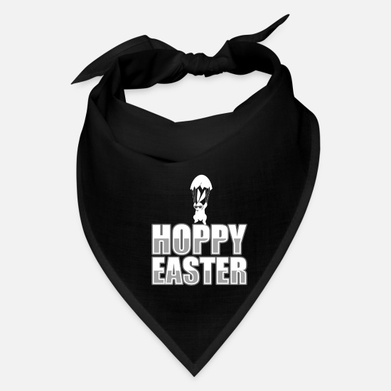 Chicken Caps - Easter Easter Bunny Easter Eggs - Bandana black